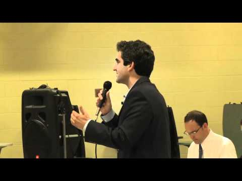 Building A Broad Coalition - Miro Weinberger Ward 5 Mayoral Debate 10-18