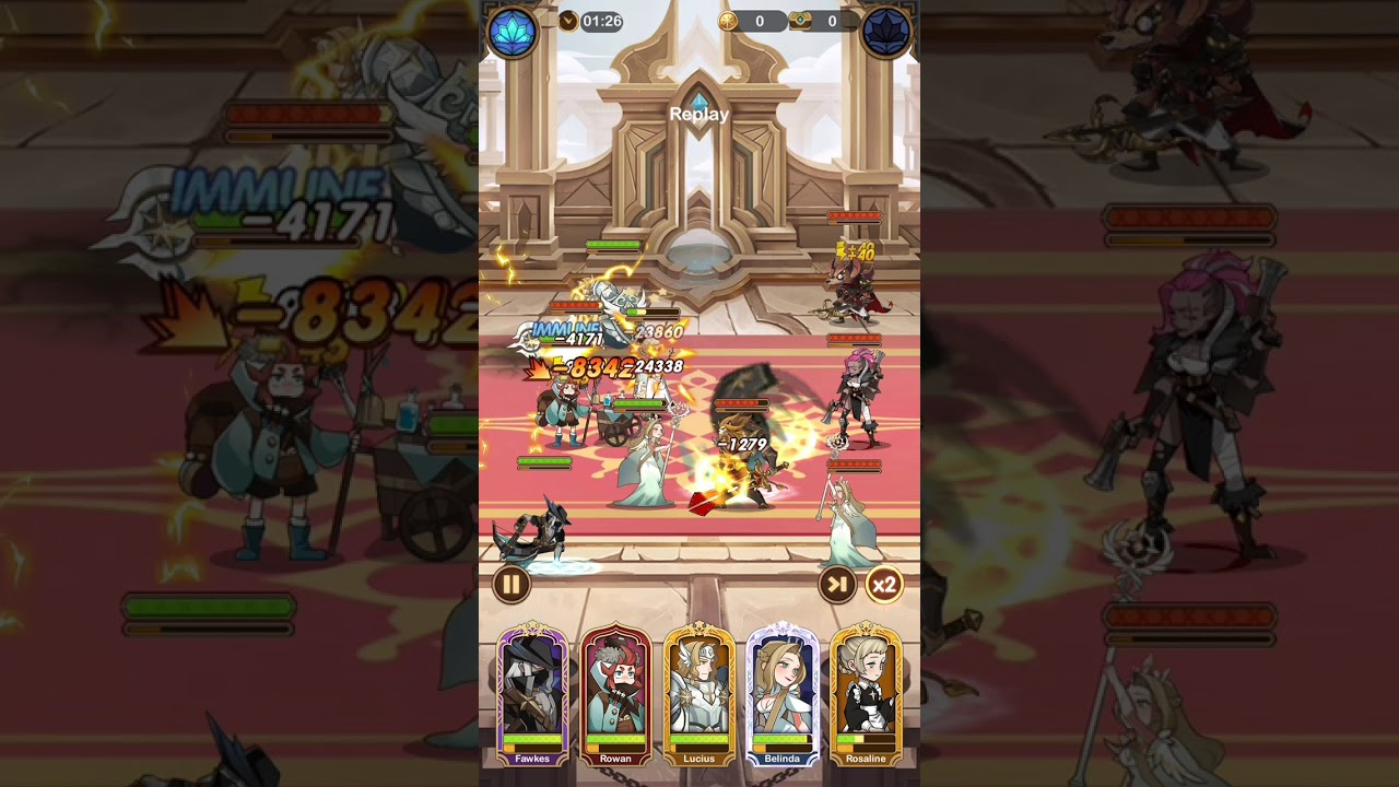 AFK Arena Stage 22-59 - YouTube