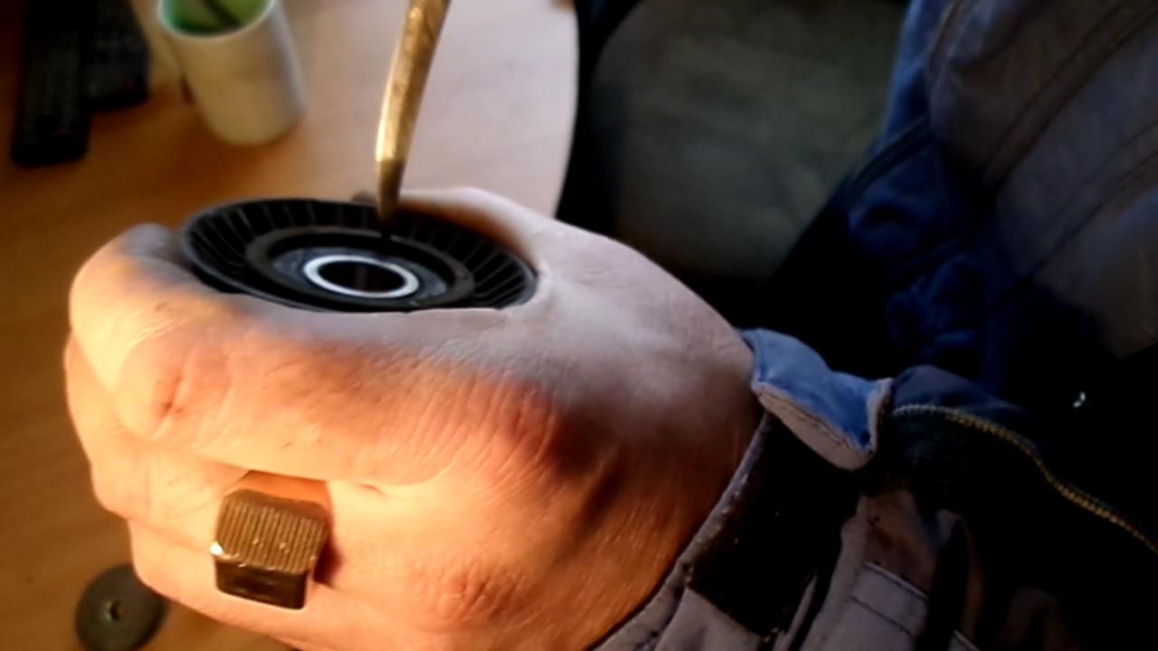 lada kalina(лада калина)замена ролика генератора, снятие ремня генератора калина