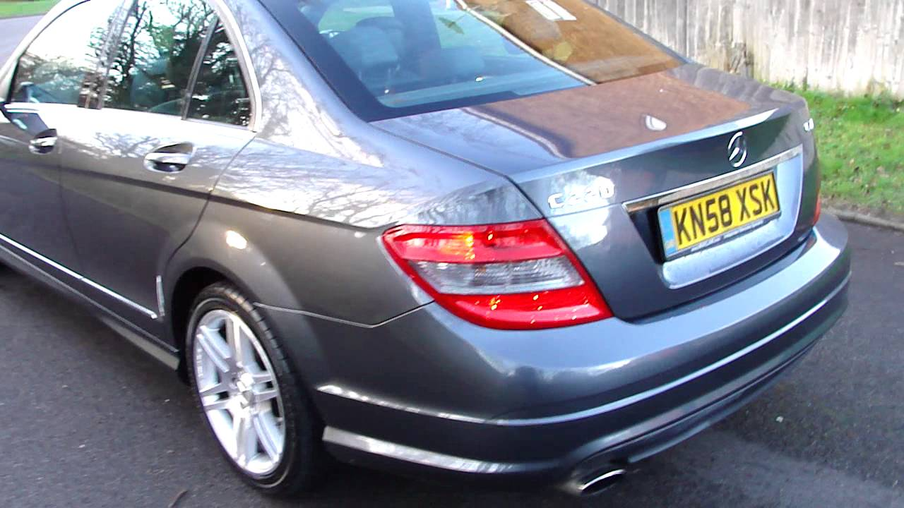 2008 58 mercedes c220 cdi amg sport diesel manual youtube. Black Bedroom Furniture Sets. Home Design Ideas
