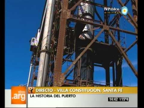 Vivo en Argentina - Villa Constitución, Santa Fé - Historia del puerto - 21-08-12