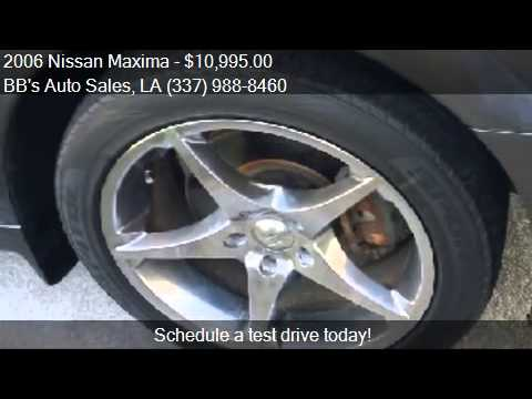 Bb Auto Sales >> 2006 Nissan Maxima For Sale In Lafayette La 70503 At The Bb