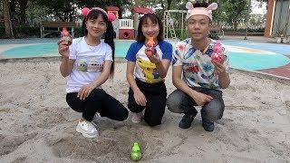 Trò Chơi Săn Và Bóc Trứng Hồ Lô ❤ BIBI TV ❤