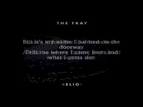 The Fray - Wherever This Goes (Lyrics)