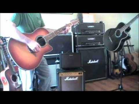 roland ac60 acoustic guitar amplifier w ovation 12 string demo review youtube. Black Bedroom Furniture Sets. Home Design Ideas