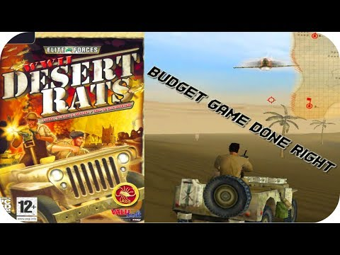 WWII: Desert Rats - Gameplay Moments PC HD