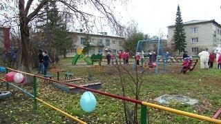 В селе Верх-Ирмень Ордынского района состоялось торжественное открытие объектов благоустройства