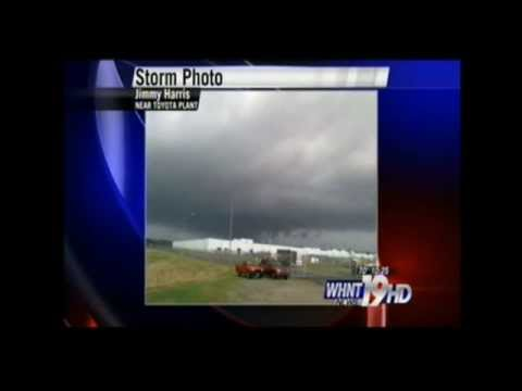 3-2-2012 WAFF & WHNT Tornado Coverage Part 3 Of 17 (10:21 Am)