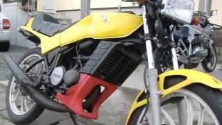 YAMAHA RZ50 Ⅰ型 始動