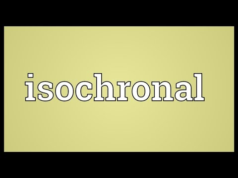 Header of isochronal