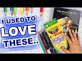 Art Supplies I Used To LOVE... But Now I HATE (& Vice Versa)