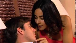 La Vecina. Antonio dormido besa a Sara