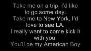 Estelle, Kanye West - American Boy ( Lyrics )