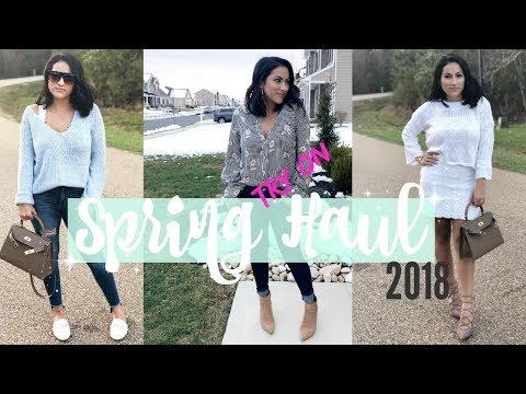 TRY ON SPRING FASHION HAUL 2018// AFFORDABLE CLOTHING