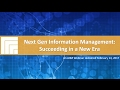[Webinar Replay] Next Gen Information Management – Succeeding in a New Era