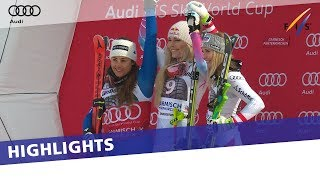 Lindsey Vonn seals her 80th World Cup win in first Downhill in Garmisch | Highlights