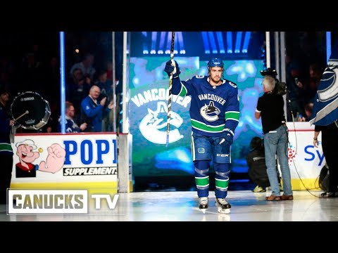 Vancouver Canucks 2018.19 Opening Night Roster (Oct. 3, 2018)