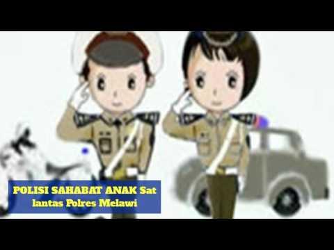Polres Melawi # Satuan Lalu Lintas # Polisi Sahabat Anak