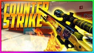 CS GO - THE kennyS DRAGON LORE GAVE ME STRENGTH! | CSGO Competitive Gameplay