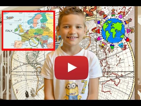video for kids How to memorize countries for children? Interactive world map