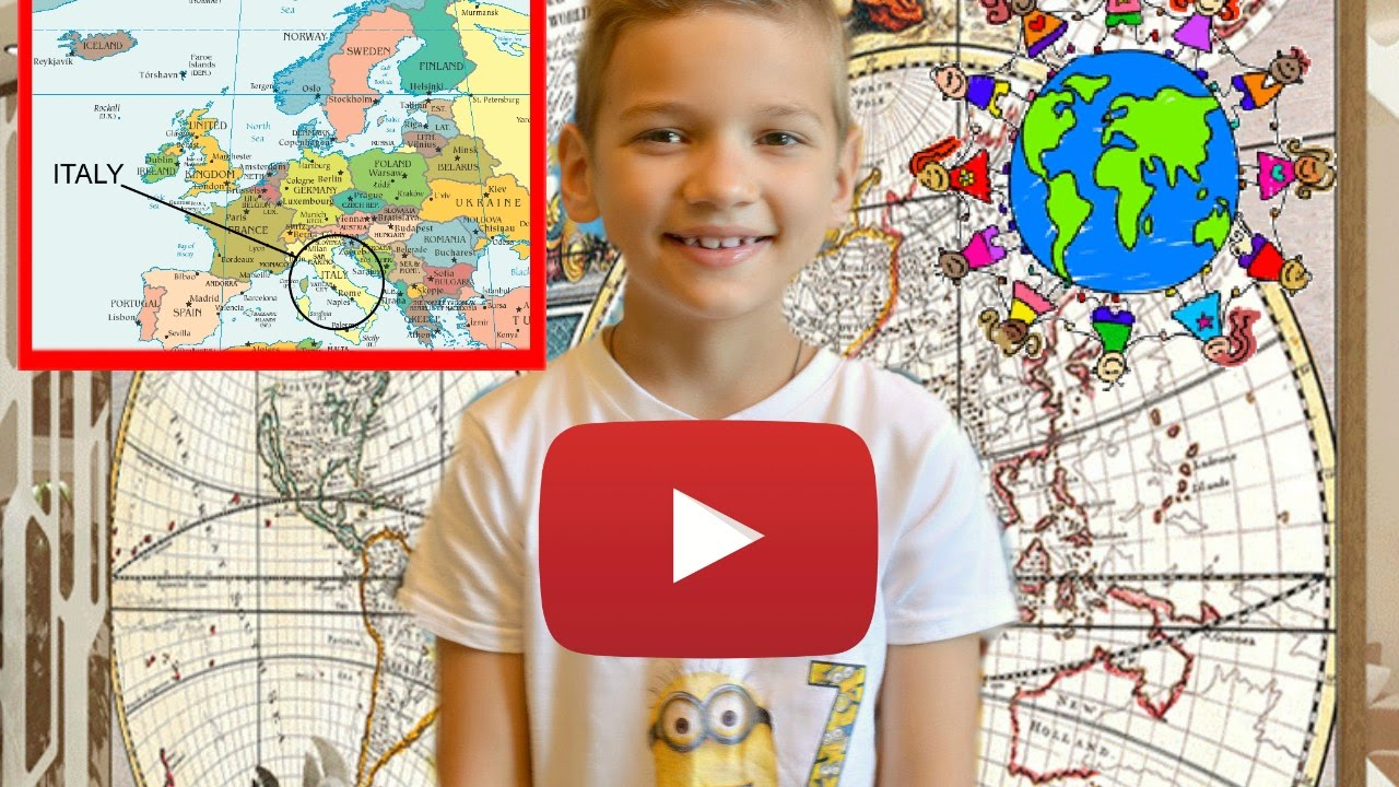 video for kids how to memorize countries for children interactive