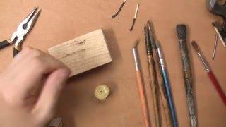 Восстанавливаем счесанные кисти. Как исправить художественную кисть художнику.