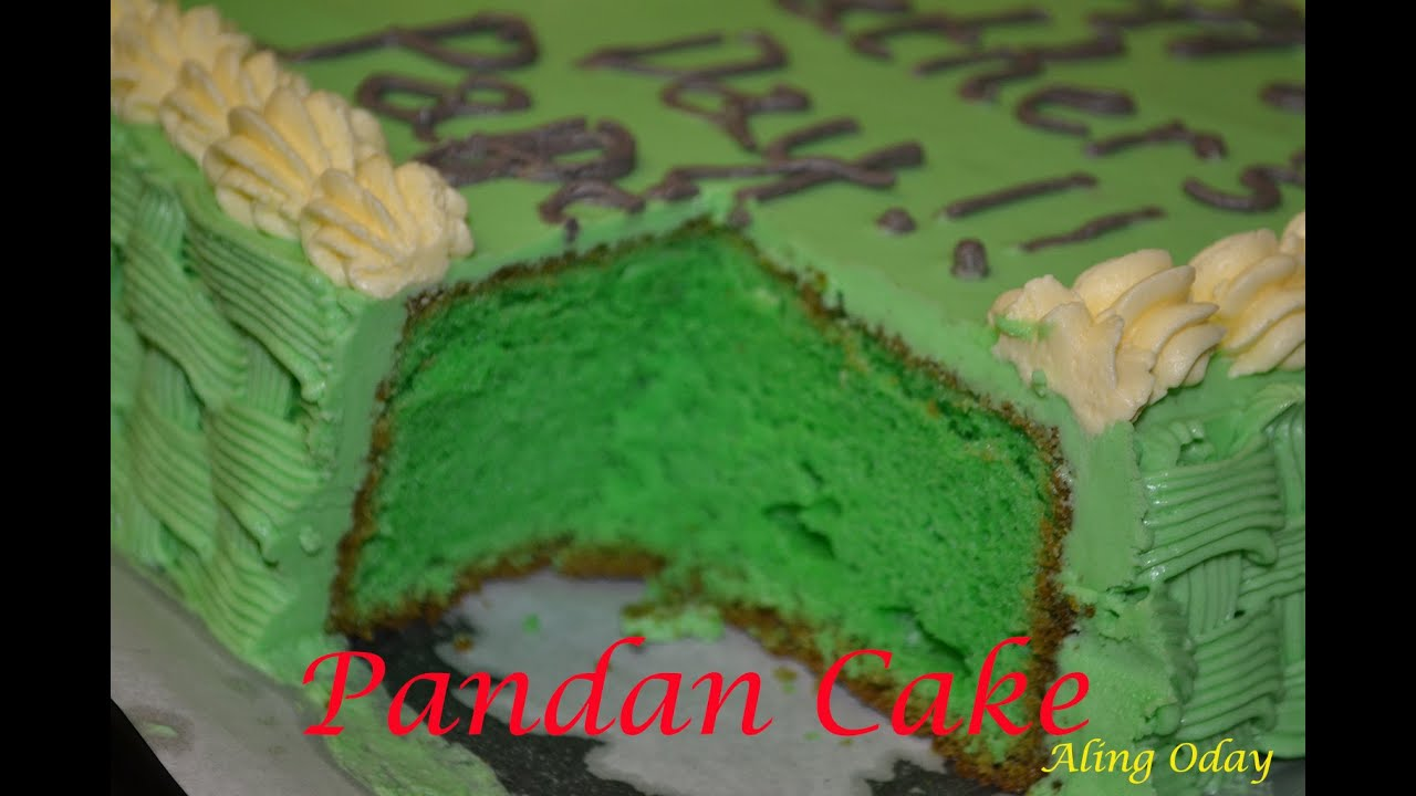 Goldilocks Buko Pandan Cake Recipe