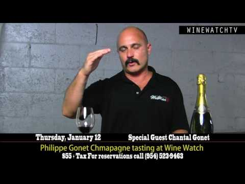 Philippe Gonet Chmapagne tasting at Wine Watch - click image for video