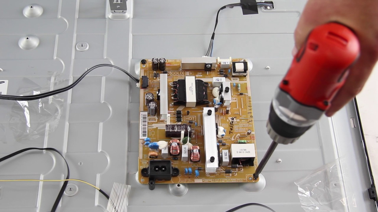 Samsung UN50H5203 TV Board Replacement - How to Fix Your Samsung 55