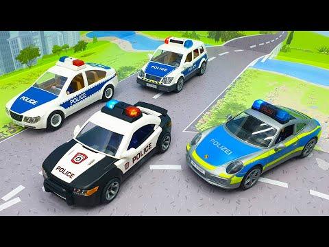 Видео с машинами - Тяжело в учении, легко в бою! Полицейские машины 2020 года смотреть онлайн.