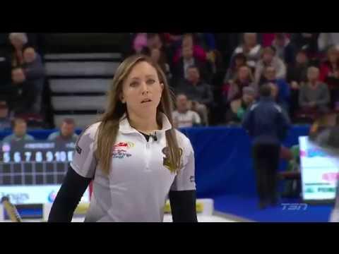 2017 ROTR. Rachel Homan -- Hit for 3