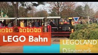 Fahrt mit der LEGO Bahn durch das LEGOLAND Dänemark