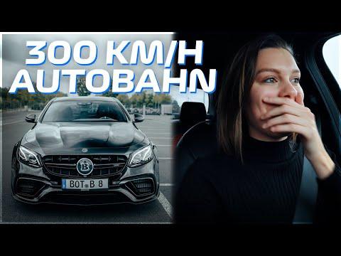 BRABUS E63 S AMG 800HP AUTOBAHN 300 KM/H! (BRABUS 800 Autobahn, Acceleration, Sound & Factory Tour)