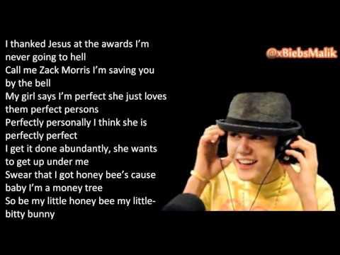 Justin Bieber Freestyle Rap 2011 (LYRICS)