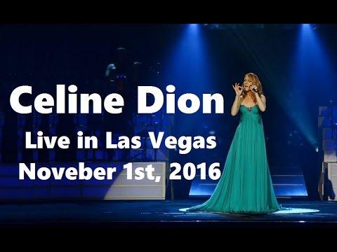 celine dion live in las vegas november 1st 2016 full show in hd youtube. Black Bedroom Furniture Sets. Home Design Ideas