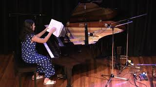 """Audrey Clerehan performs """"Sonatina in C major"""" and """"Glacier Majestic"""""""