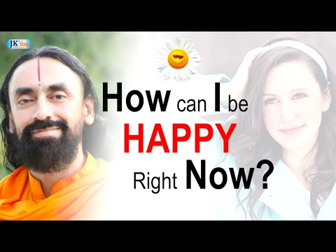 How Can I Be Happy Right Now?| Swami Mukundananda | Being Happy