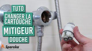 Comment changer la cartouche de votre mitigeur de douche