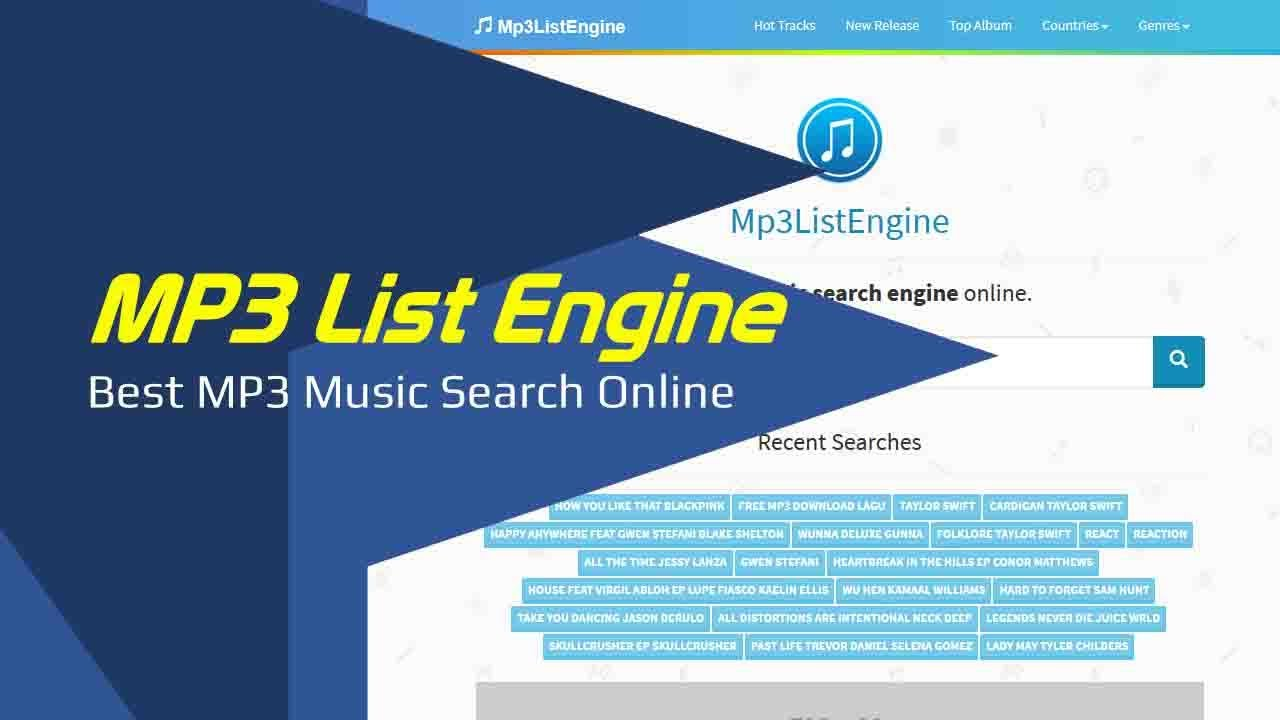 Mp3 List Engine Best Mp3 Search Engine Online Youtube
