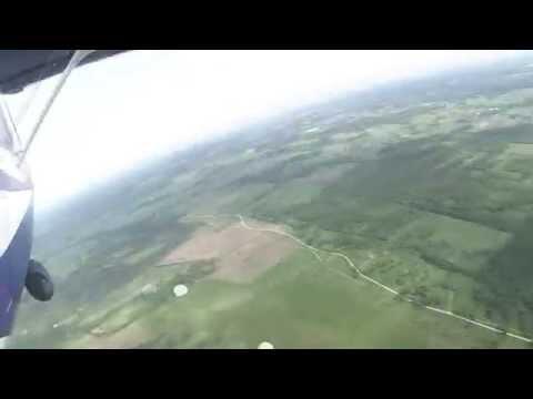Первый прыжок с парашютом 800м 06.06.2015 (Rapla Airfield)