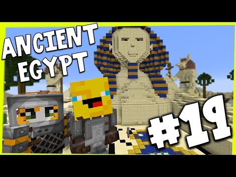 Minecraft - TIME TRAVELLERS! - ANCIENT EGYPT! #19 W/Stampy & Ash!