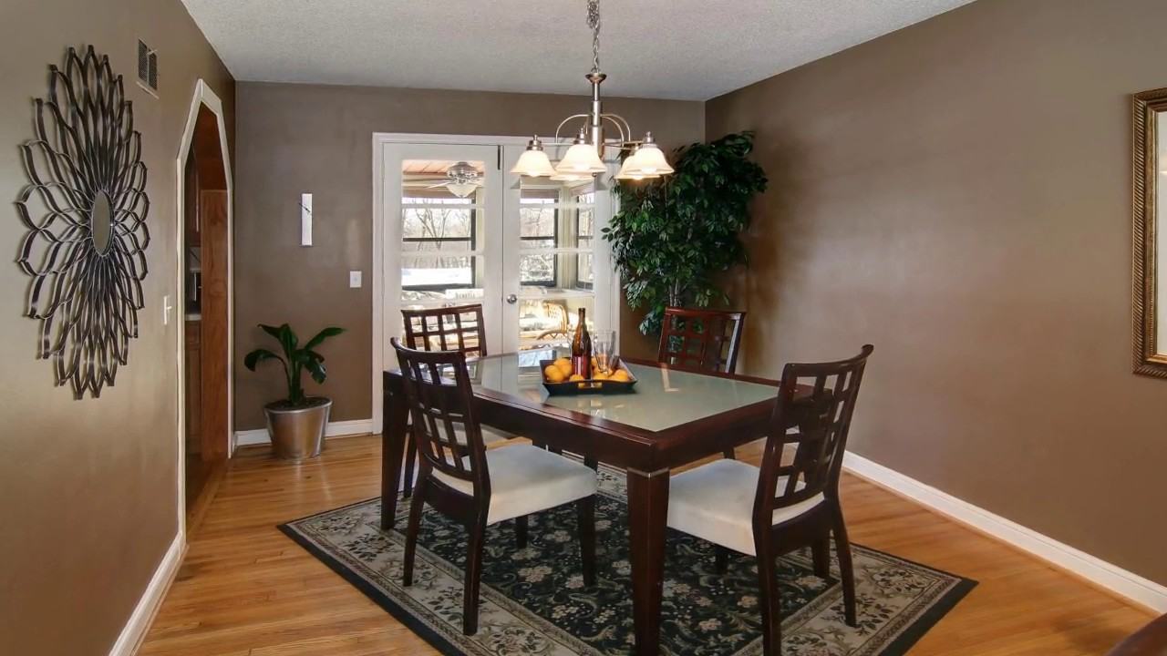 Dining Room With Carpet At Home Ideas