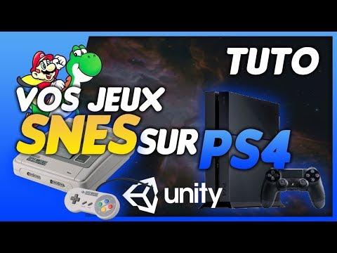 📺 PS4 HEN 4 55 RetroGaming : Emulateur Super NES 🕹