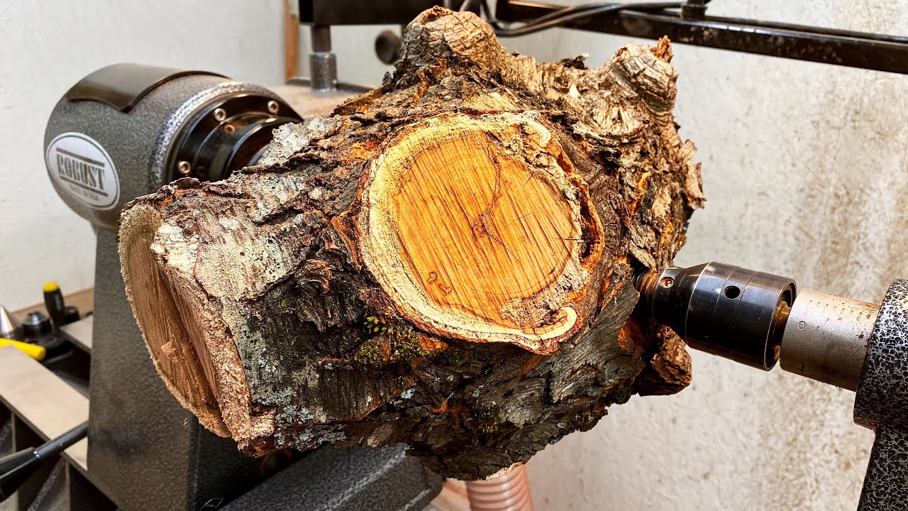 Woodturning:  The Cherry Canary!