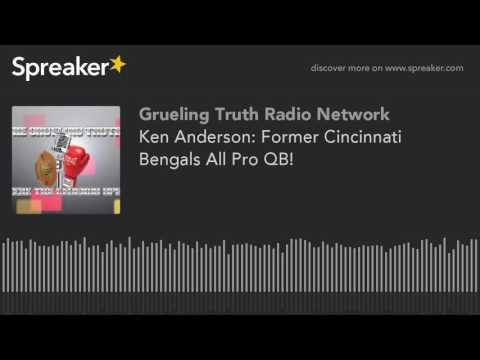 Ken Anderson: Former Cincinnati Bengals All Pro QB! (part 2 of 3)