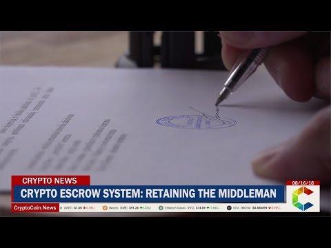 Crypto Escrow System: Retaining The Middleman