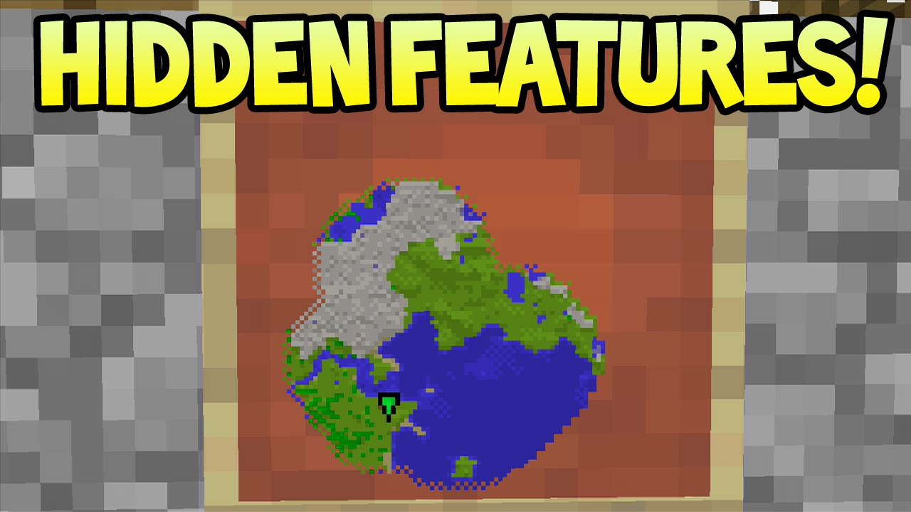 Minecraft (Xbox360/PS3) - Hidden Features! - Wall/Linked Maps + Tutorial +  More!