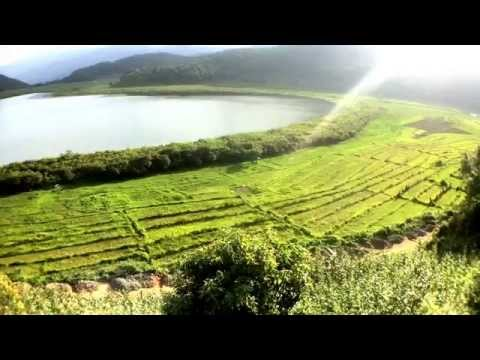 Beauty & History Of Rik Dil Lake (Heart-shaped Lake) Chin State Myanmar