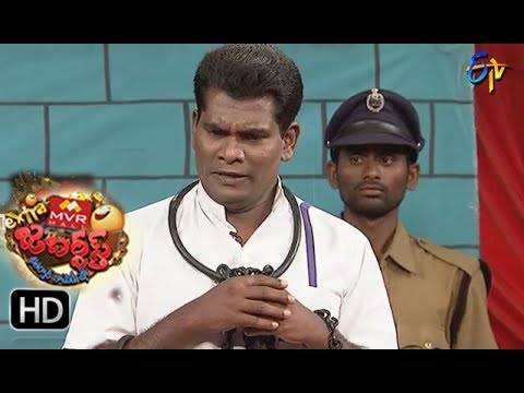 Chammak Chandra Performance | Extra Jabardsth | 14th  July 2017| ETV  Telugu