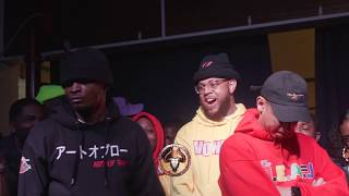 BRIZZ RAWSTEEN vs LOSO rap battle hosted by John John Da Don | BullPen Battle League